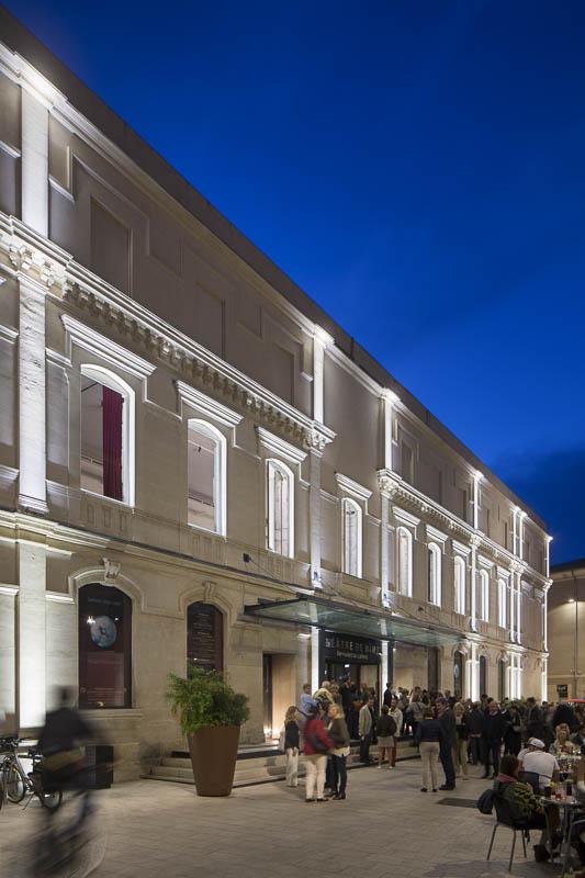 Théâtre Bernadette Lafont à Nîmes - Photographe Eclairage