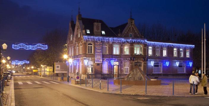Illuminations festives à Halluin - Photographe Eclairage
