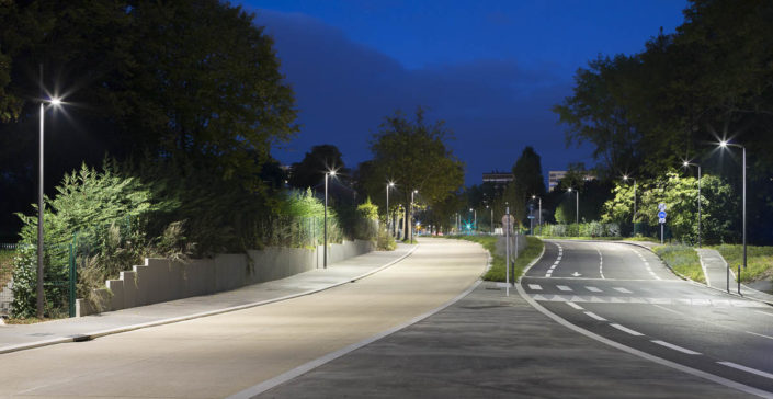 Eclairage public à Metz - Photographe Eclairage