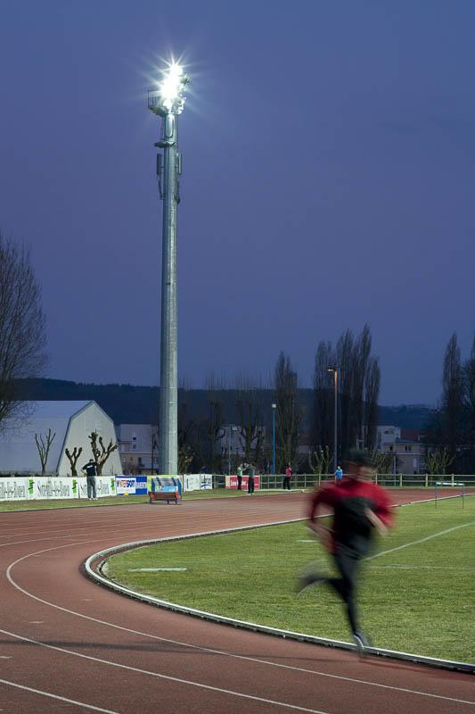 Stade sottevillais - Photographe Eclairage