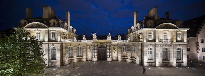 Palais Rohan, Place du Château - Photographe Eclairage