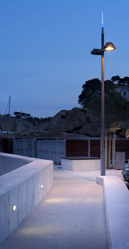 Eclairages du port d'Ensuès La Redone - Photographe Eclairage