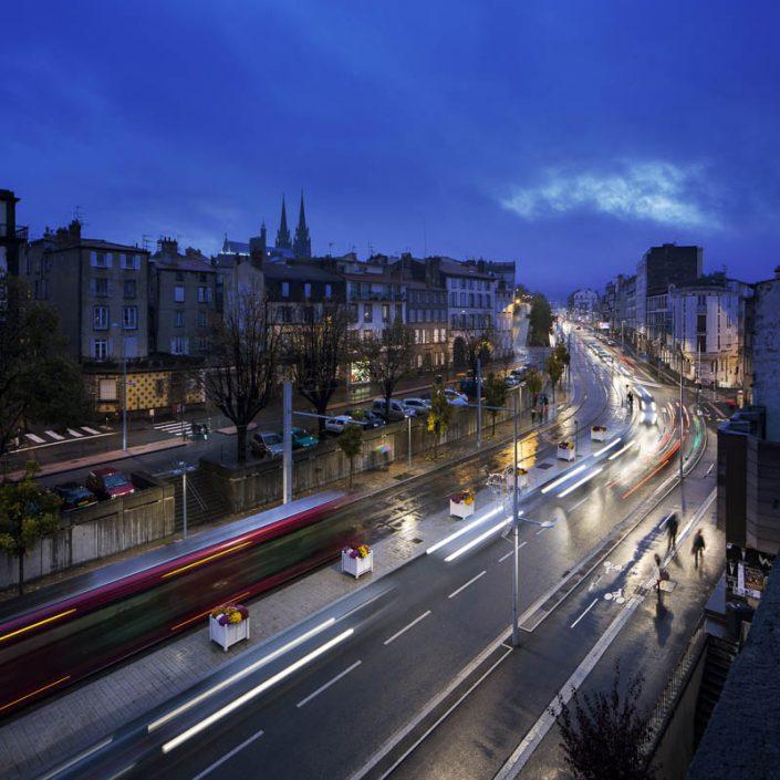 Gestion des éclairages de de la ville de Clermont Ferrand (63) - Photographe Eclairage