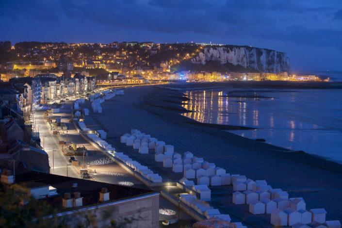 Eclairage public à Mers les Bains - Photographe Eclairage