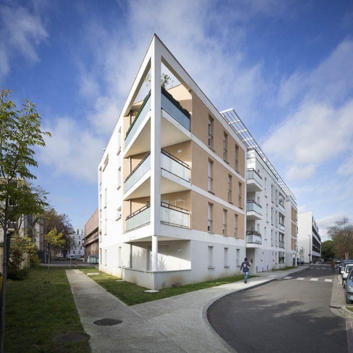 Résidence les Saules à Blagnac - Photographe Architecture