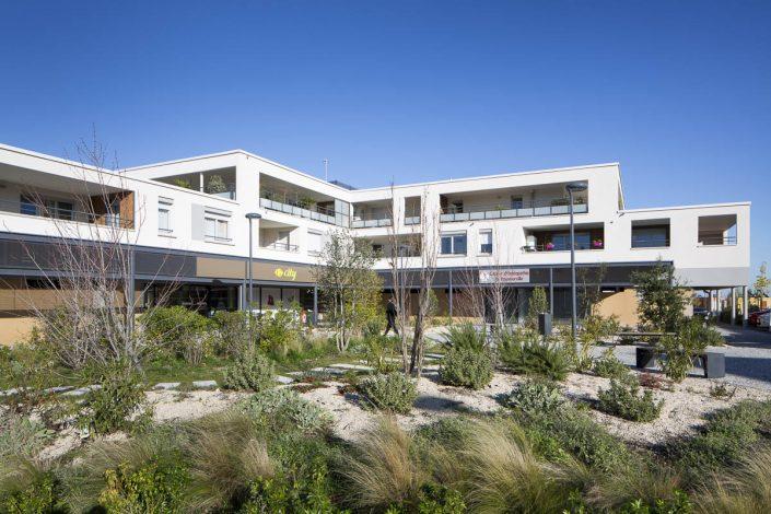 Résidence à Toulouse - Client: ARUA - photographe architecture