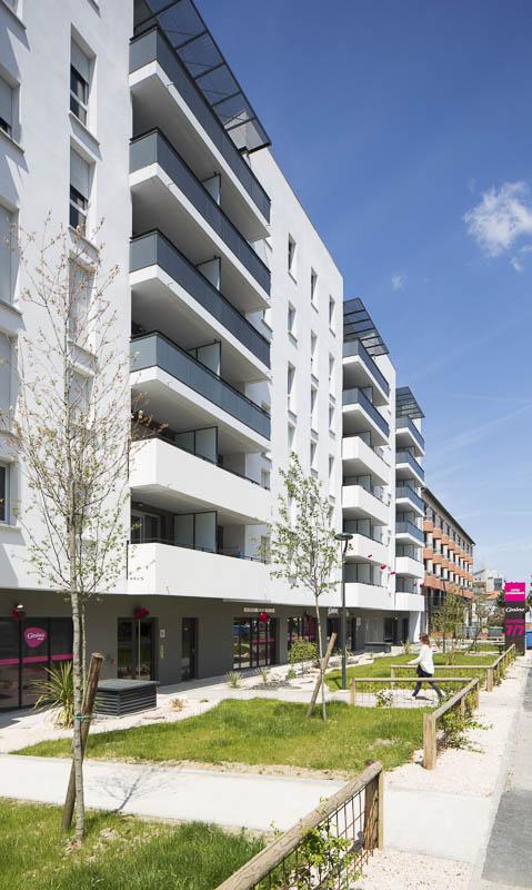 Résidence Garonne à Toulouse - photographe-architecture