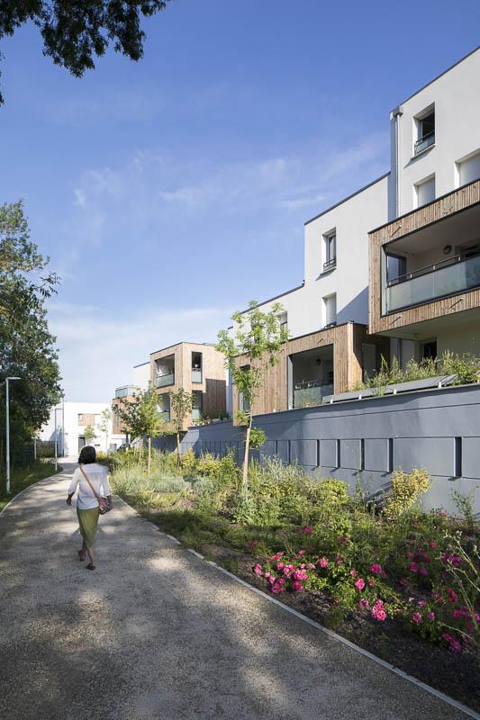 Résidence Les Arènes - Photographe Architecture