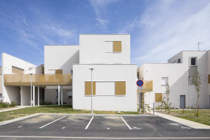 Résidence ZAC Vidailhan - Photographe Architecture