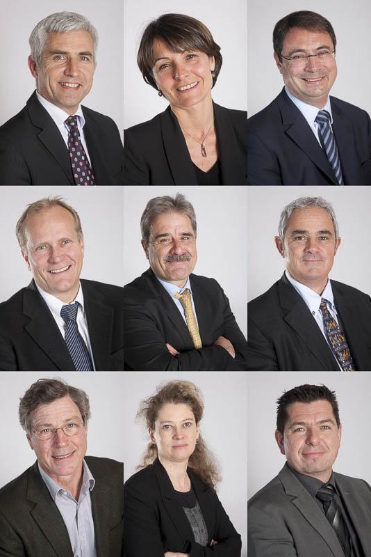 Portrait comité de direction - Photographe corporate