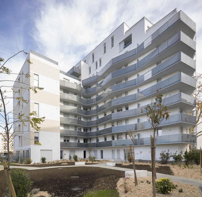 Résidence L'Odyssée - Quartier La Cartoucherie - Photographe Architecture