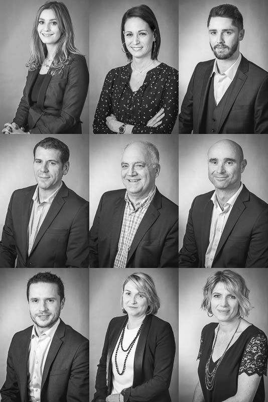 Portraits agence Vinci Immobilier Midi-Pyrénées - Photographe corporate