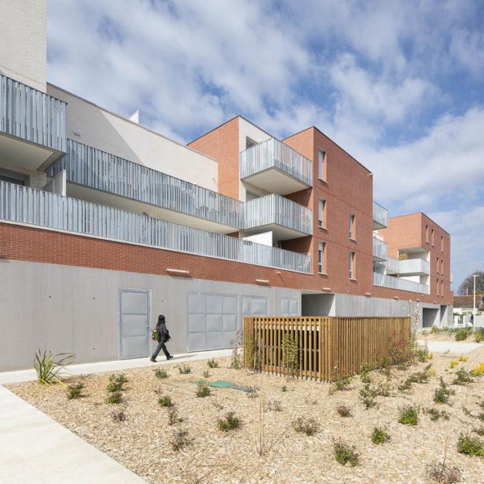 Résidence Rose Place - Photographe Architecture