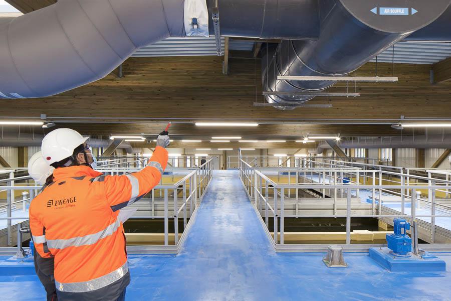 usine d'eau potable