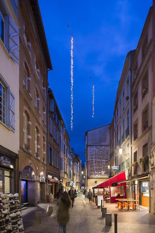 Illuminations à Toulouse - Photographe Eclairage