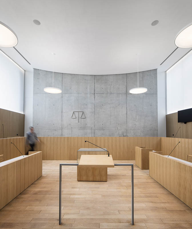 Tribunal de Mont de Marsan - Photographe Architecture